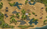 5 Forge Of Empires - Screenshot: Bitwa